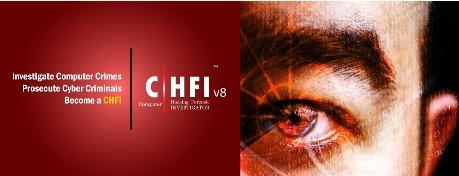 دانلود مجموعه عظیم آموزش مدرک CHFI v8 (جرم شناسی رایانه ای)