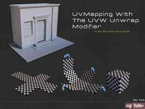 Introduction To UVMapping In Max Using The Unwrap UVW Modifie