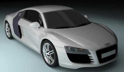 final large دانلود فیلم آموزش طراحی و مدل سازی Audi R8 در تردی مکس!