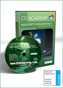 max script cg academy p30learning.com