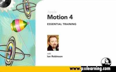 th 149886 دانلود فیلم آموزش نرم افزار Apple Motion 4